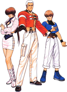 KOF '97 New Faces Team