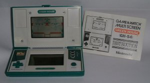 Game & Watch con cruceta digital
