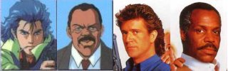 Policenauts VS Lethal Weapon