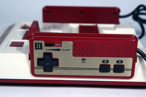 Square Button Famicom