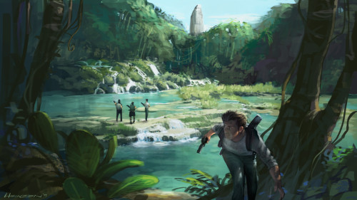 Uncharted Concept Artwork