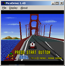 Virtua Racing Emulator