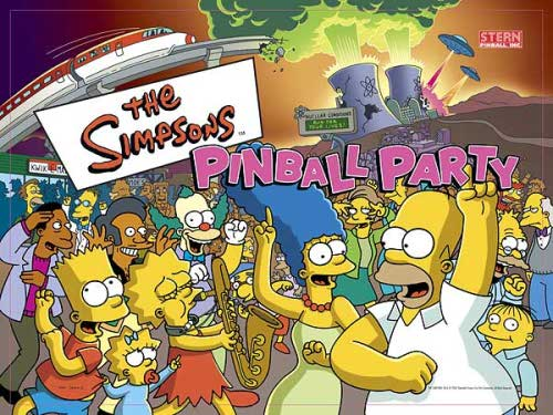 Simpsons Pinball Party