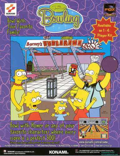 Simpson's Bowling