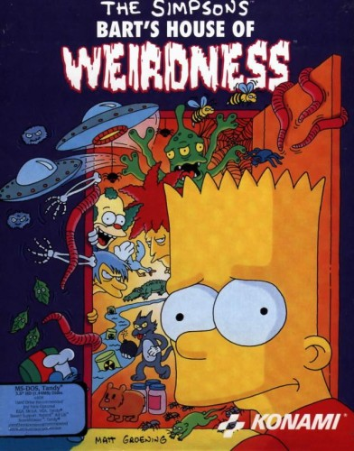Bart's House of Weirdness