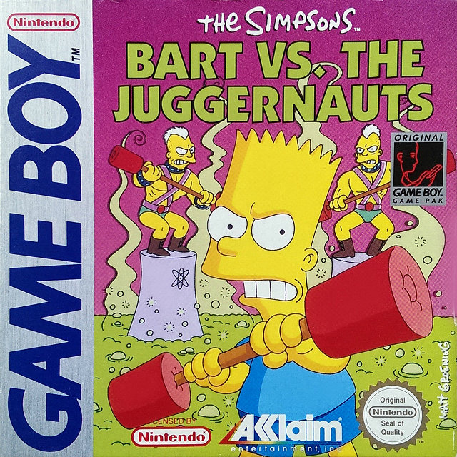 Bart vs. The Juggernauts