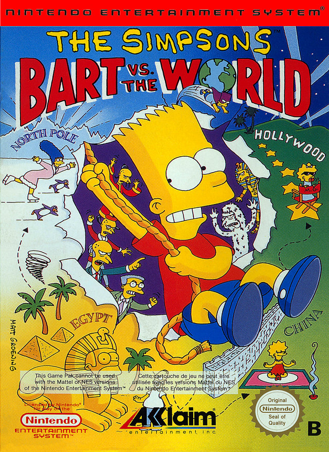 Bart vs. the World