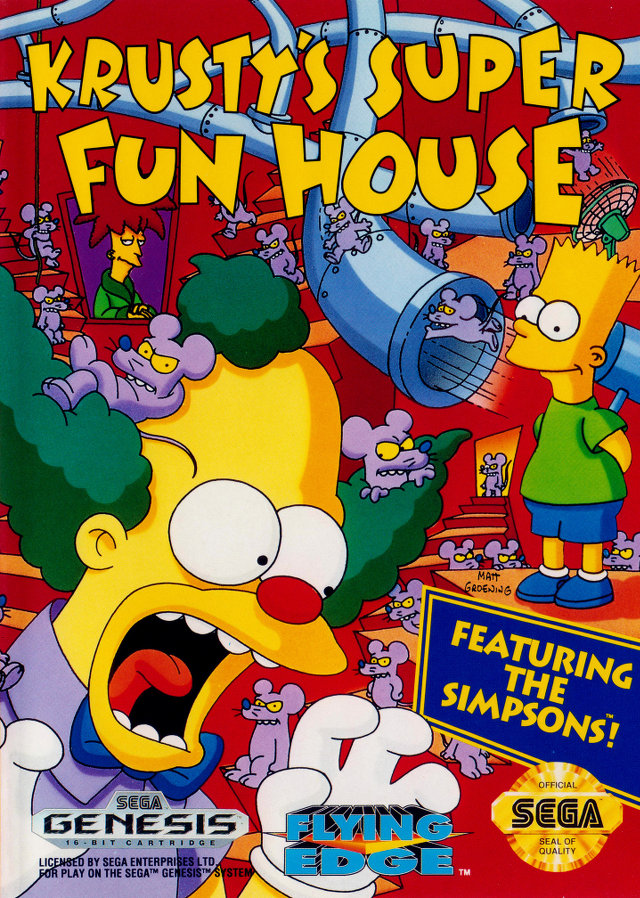 Krusty's (Super) Fun House