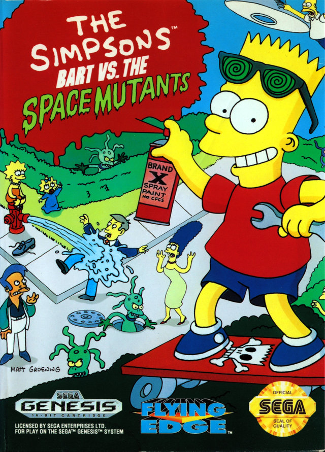 Bart vs. the Space Mutants