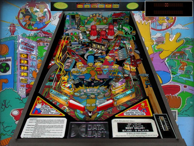 Simpsons Pinball