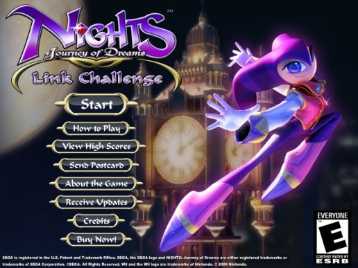 NiGHTS Journey of Dreams: Link Challenge
