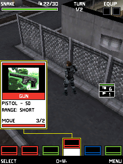 Metal Gear Ac!d Mobile 3D