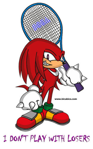 Sega Superstars Tennis - Knuckles
