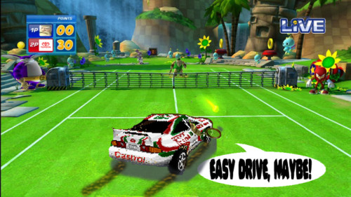 Sega Superstars Tennis - Sega Rally