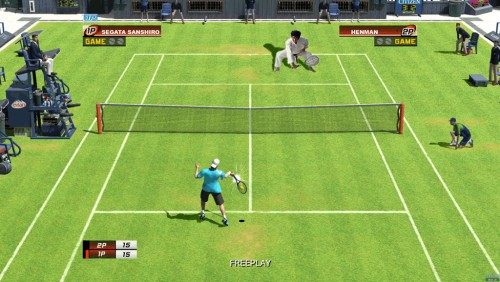Sega Superstars Tennis - Segata Sanshiro