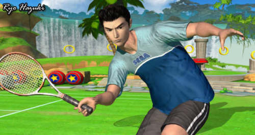 Sega Superstars Tennis - Shenmue