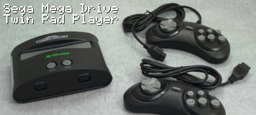 Sega Mega Drive Twin Pad Player
