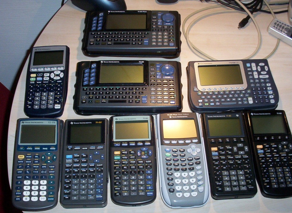 Calculadoras de Texas Instruments