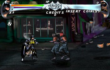 Batman Forever Arcade Game