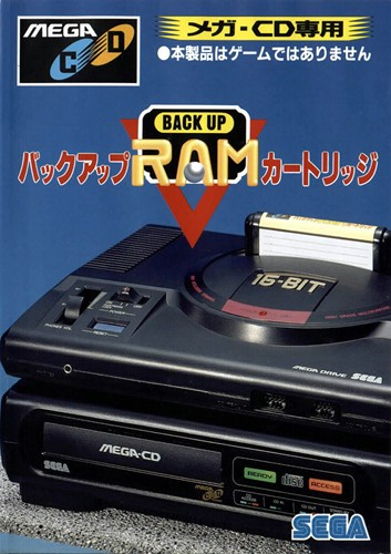 Mega CD Backup RAM