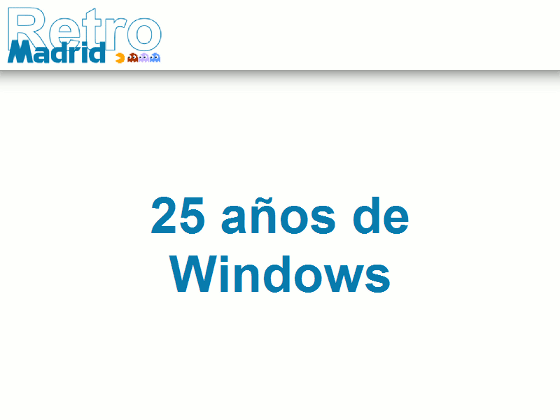 25 Años de Windows